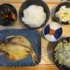焼魚(えぼ鯛)の献立
