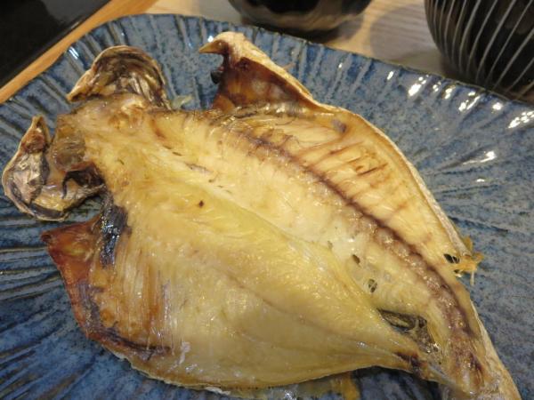 焼魚(えぼ鯛)