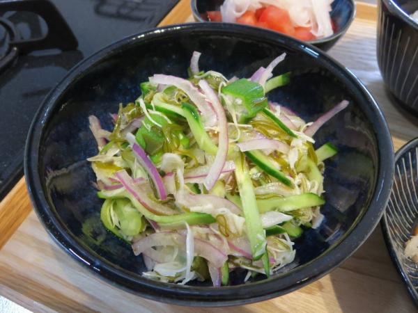 5品目のサラダ