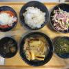 ツナマヨと大根と豚肉の煮物(作り置き)の献立