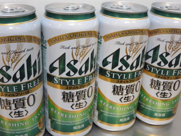 アサヒスタイルフリー糖質0(生)発泡酒