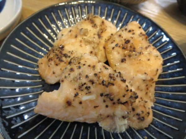 秋鮭のトースターパン焼き