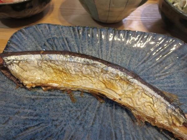 焼魚(さんま)