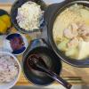 ひとり鍋(鍋キューブ・鶏だしうま塩)の献立