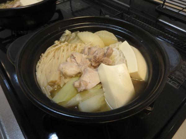 ひとり鍋(鍋キューブ・鶏だしうま塩)