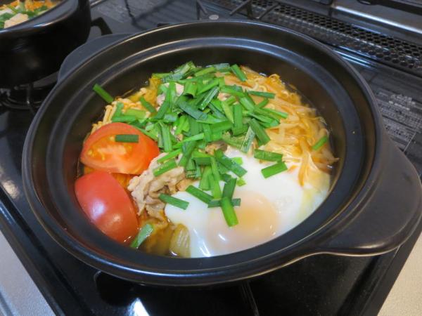 うま辛キムチ(鍋キューブ)ひとり鍋
