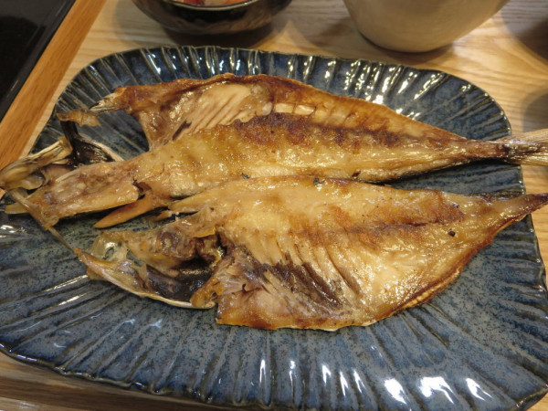 焼魚(アジの開き)