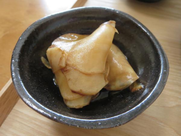 菊芋の甘酢醤油漬け