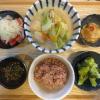 白菜と肉団子の豆乳煮の献立