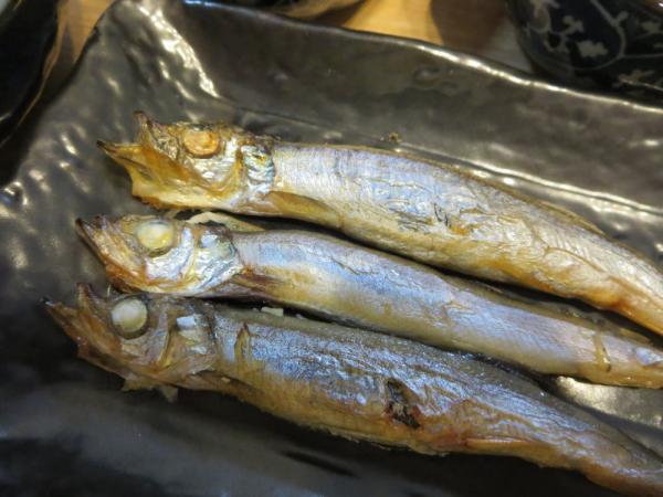 焼魚(ししゃも)