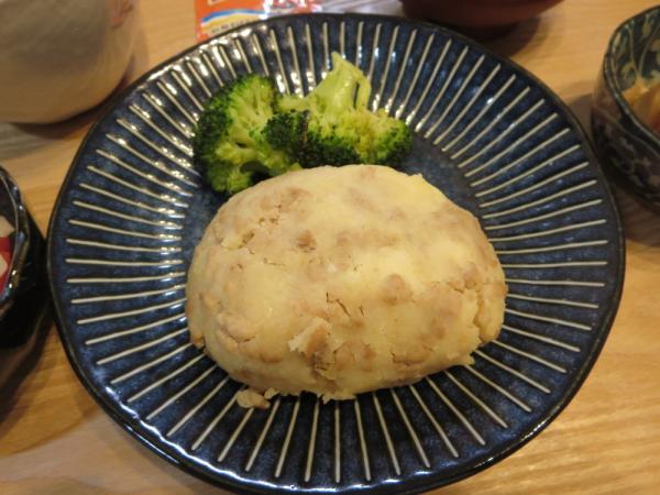 チーズ入りポテト焼き
