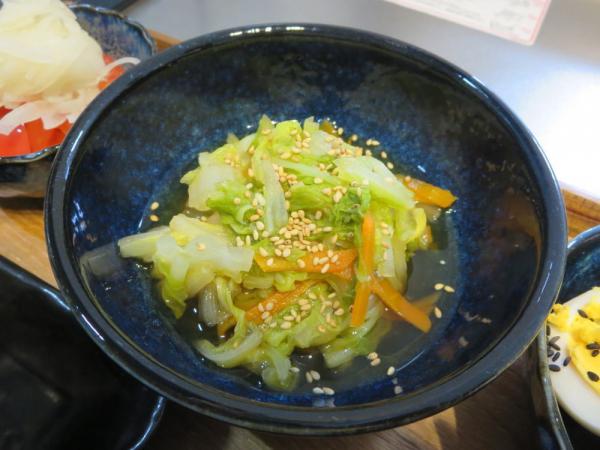 白菜のナンプラー蒸し