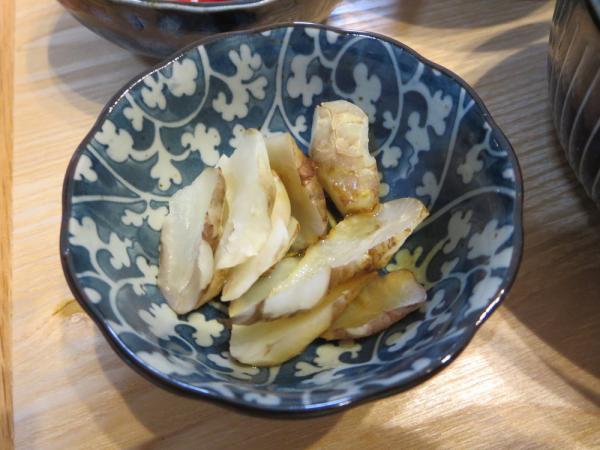 菊芋のガーリックバターしょう油味