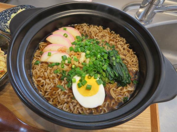 天ぷらそば(マルちゃん袋麺)(年越しそば)