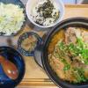キムチ鍋(ひとり鍋)の献立