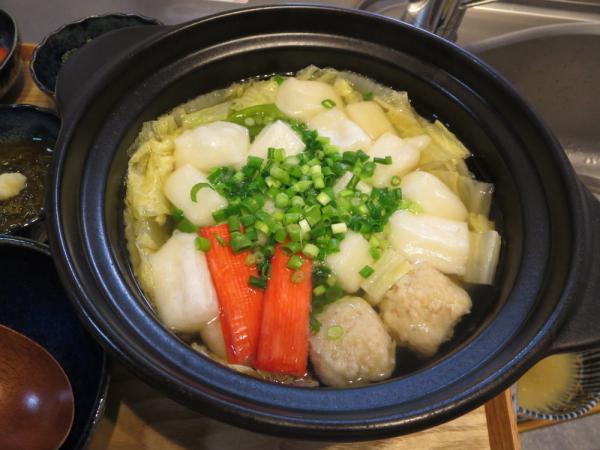 土鍋でお雑煮
