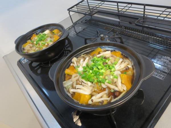 土鍋で煮ほうとう