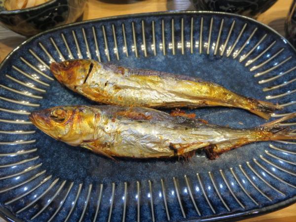 焼魚(めざし)