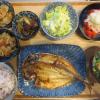 焼魚(トロアジの干物)の献立