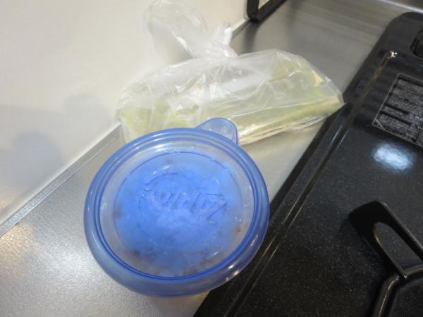 冷凍ごはんと冷凍キーマカレー