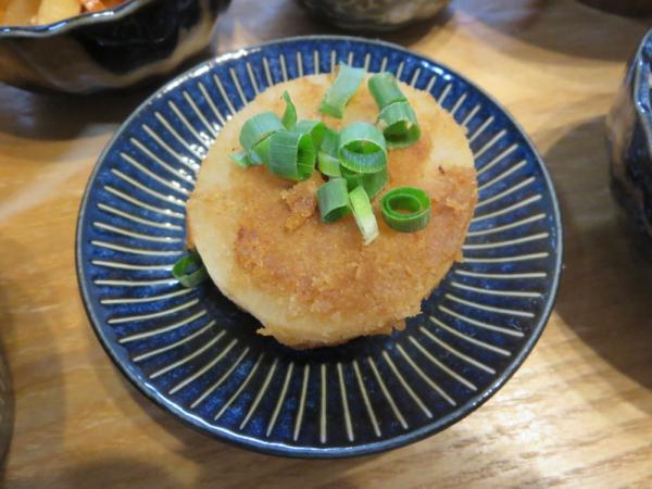 大根ステーキ、竹の子ペースト塗り