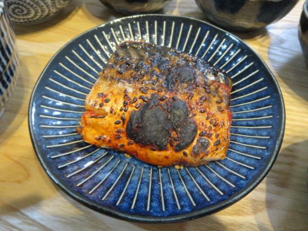 焼魚(さばのみりん干し)