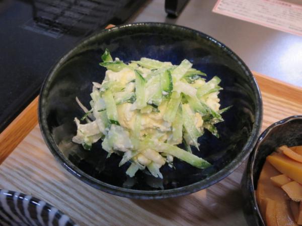 きゅうりのカッテージチーズサラダ