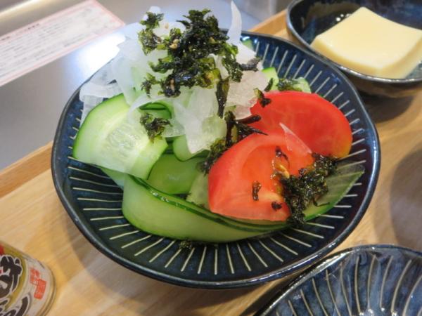 ピーラーきゅうりのサラダ