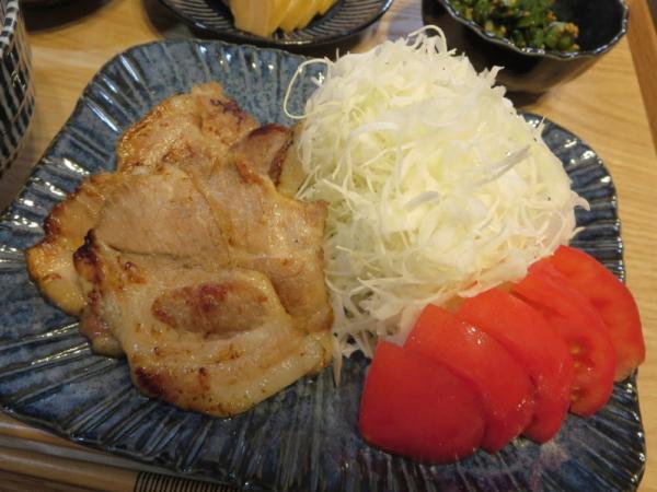 茹で+焼き塩豚