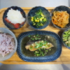 煮魚(ギンダラ)の献立