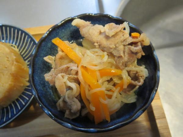 大根と豚肉としらたきの煮物