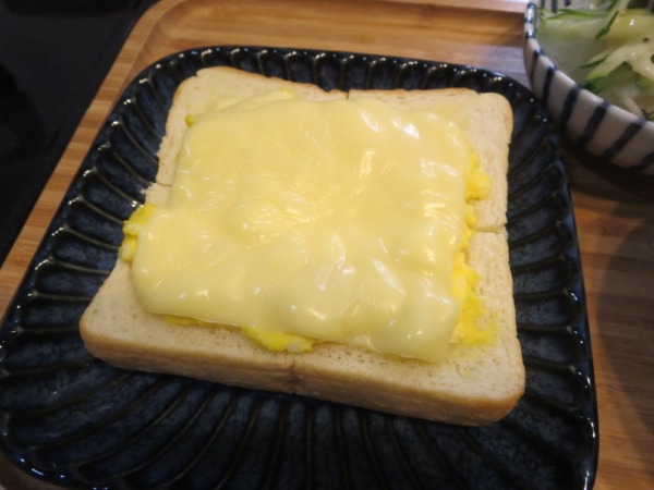 チーズたまごトースト