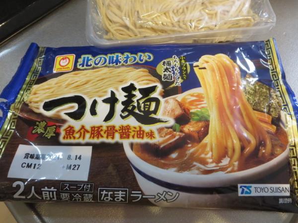 マルちゃん北の味わいつけ麺魚介豚骨醤油味