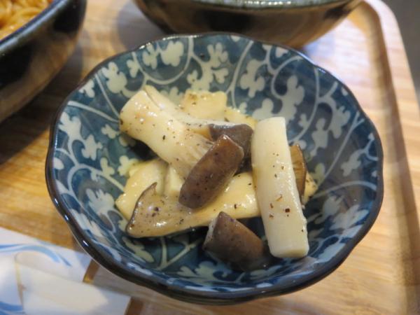 エリンギのガーリックバター