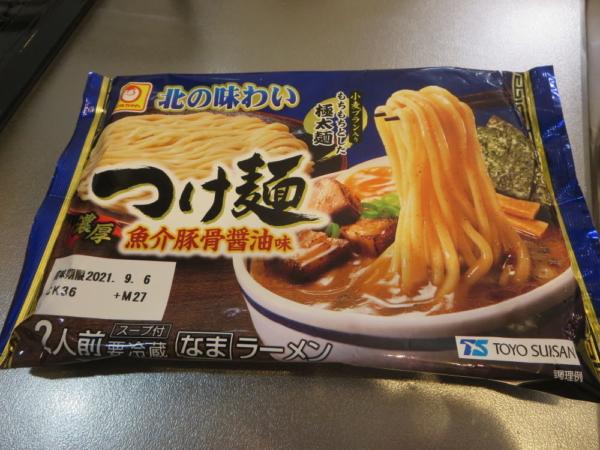 つけ麺(魚介豚骨醤油味)マルちゃん