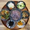 野菜炒め(魚肉ソーセージ入り)の献立