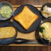 トーストと北海道フォンデュシチューの献立