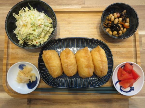 いなり寿司の献立
