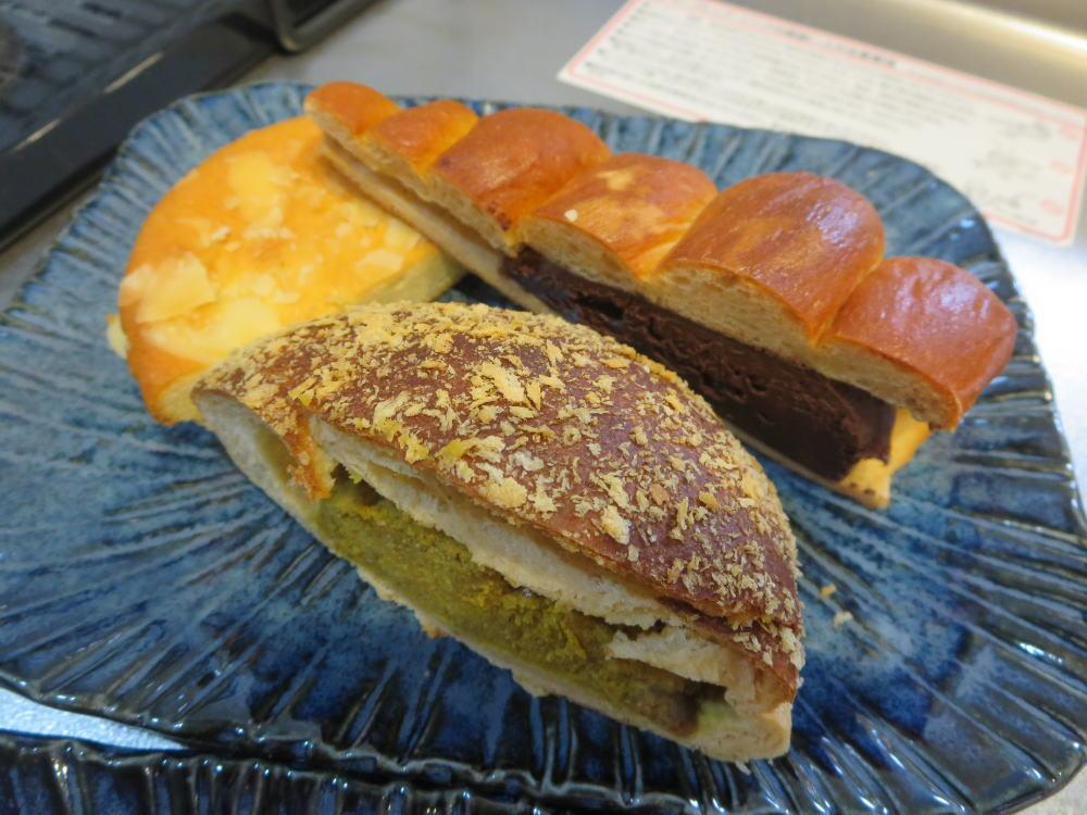 糖質制限 焼きカレーパン、生チョココロネ、マドレーヌ(楽園フーズ)
